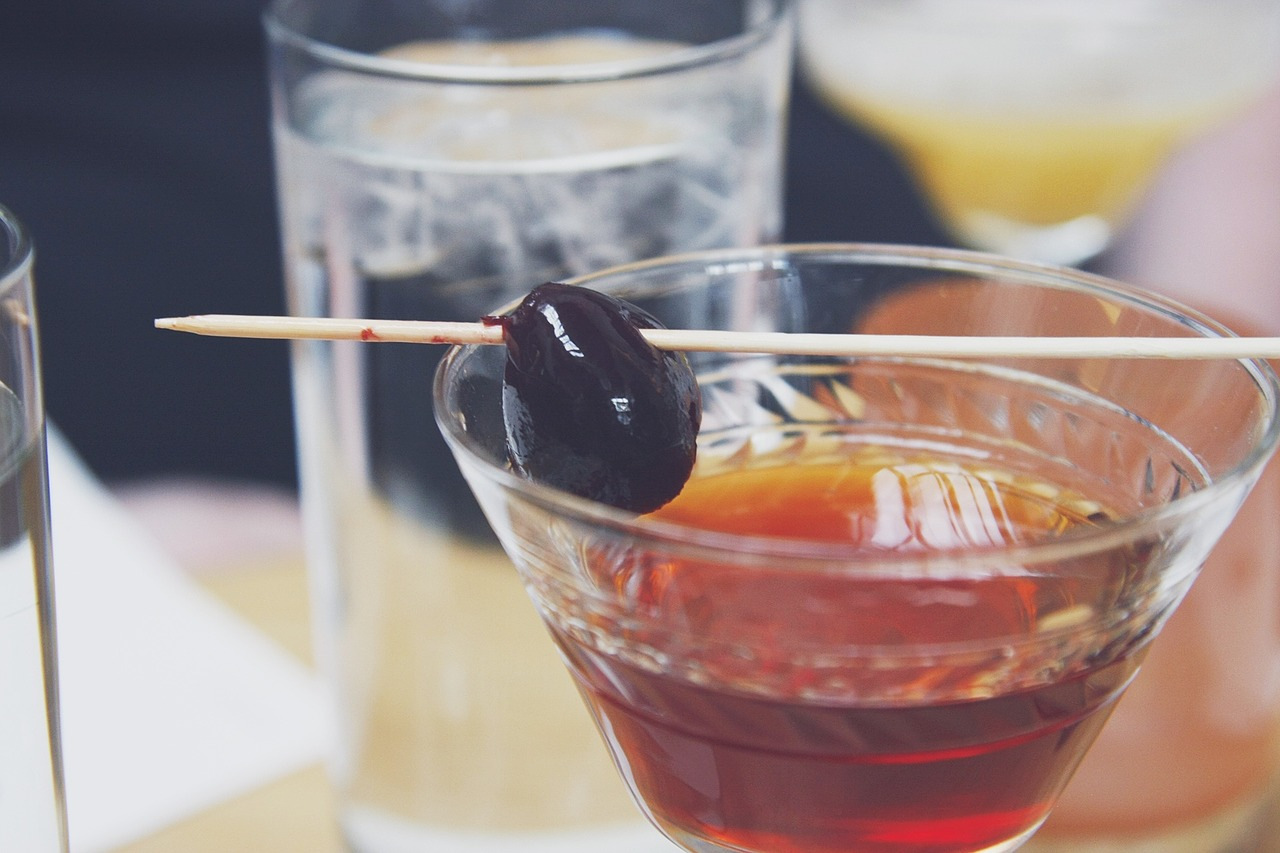 Brandy is made from distilled, fermented wine.