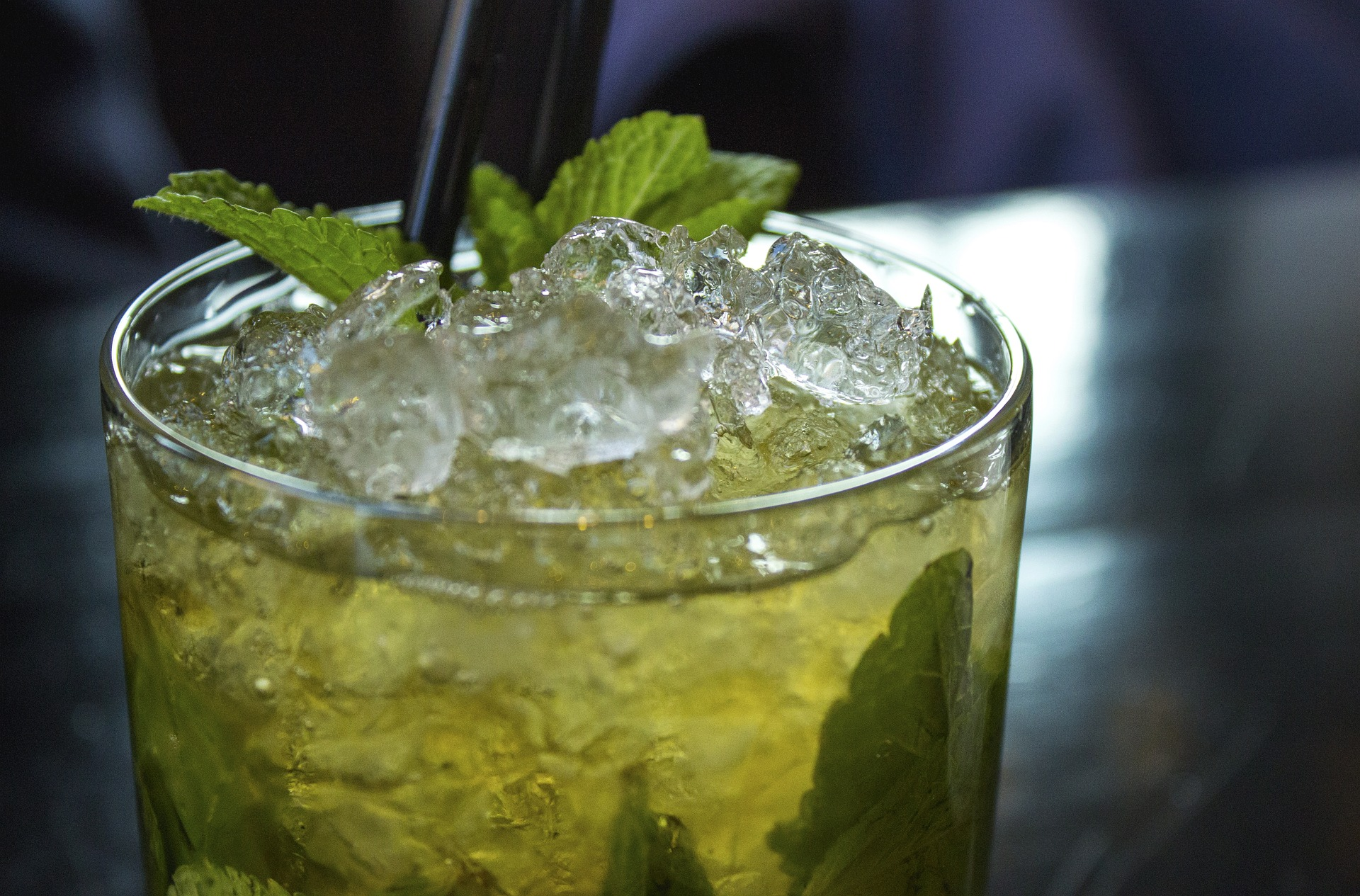The mojito is one of the most popular rum mixed drinks.