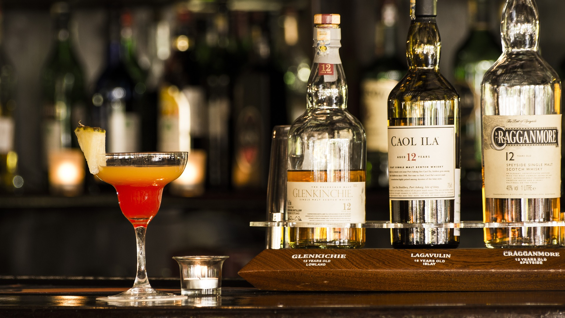 Single malt whiskies are best enjoyed solo, while blended whiskies are better in cocktails.